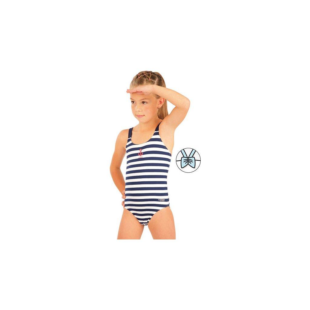 Dívčí jednodílné plavky LITEX
