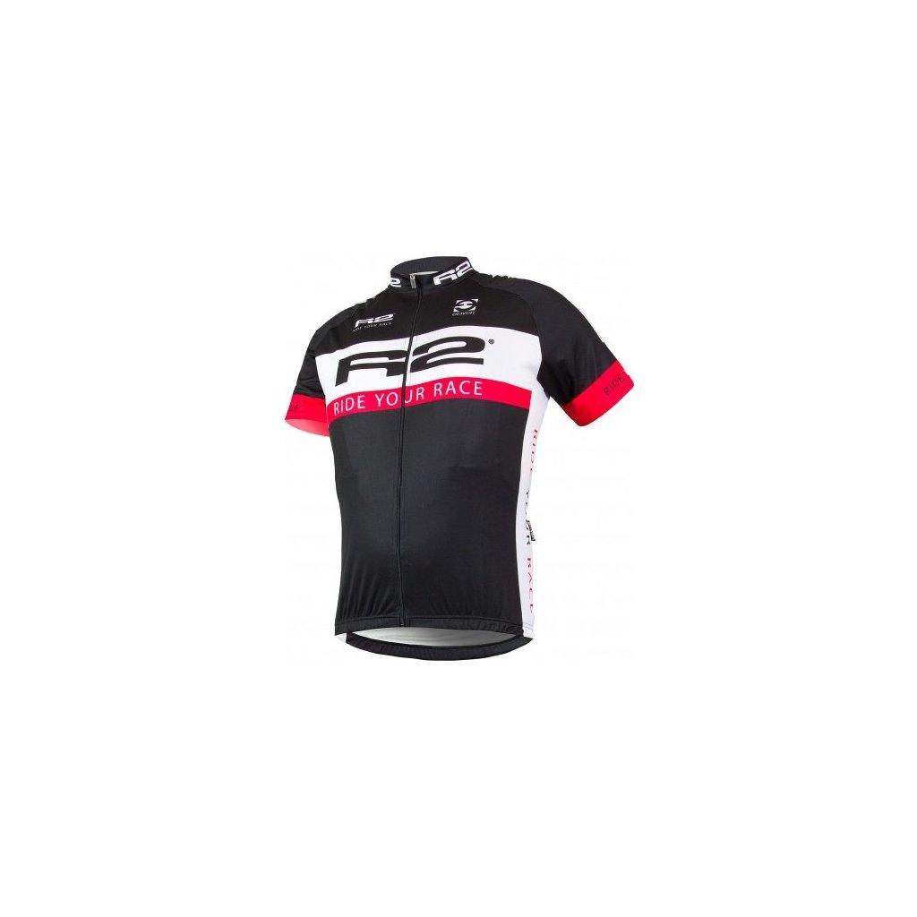 Pánský cyklistický dres R2 Dany černý
