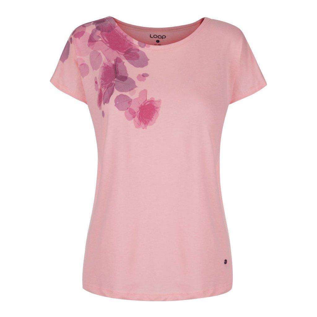 Dámské triko LOAP Alfie růžové