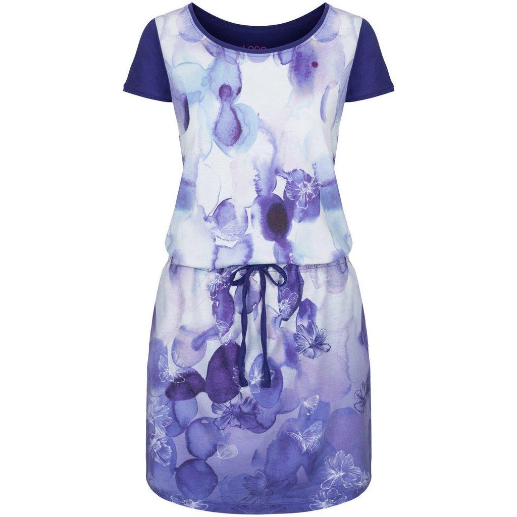 Dámské sportovní šaty LOAP Alkyra fialové