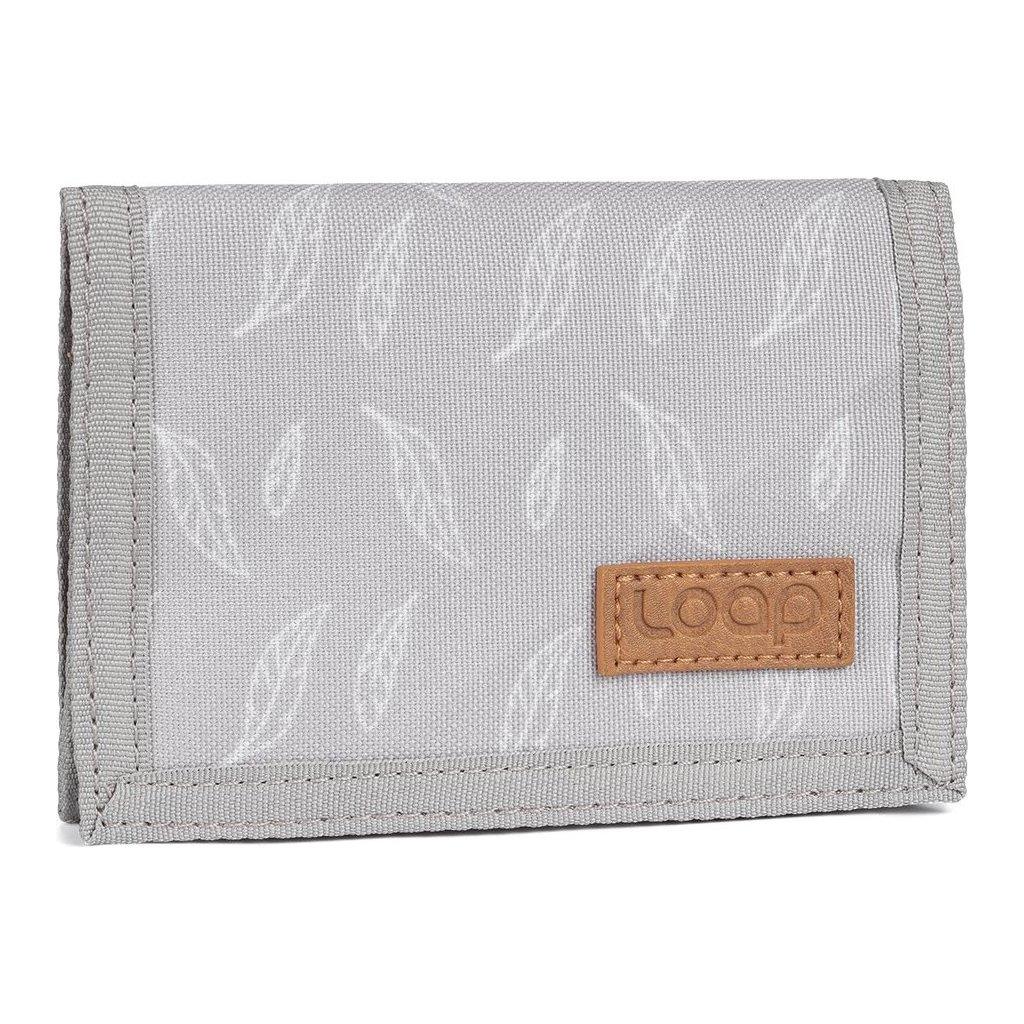 Peněženka LOAP Walleta šedá