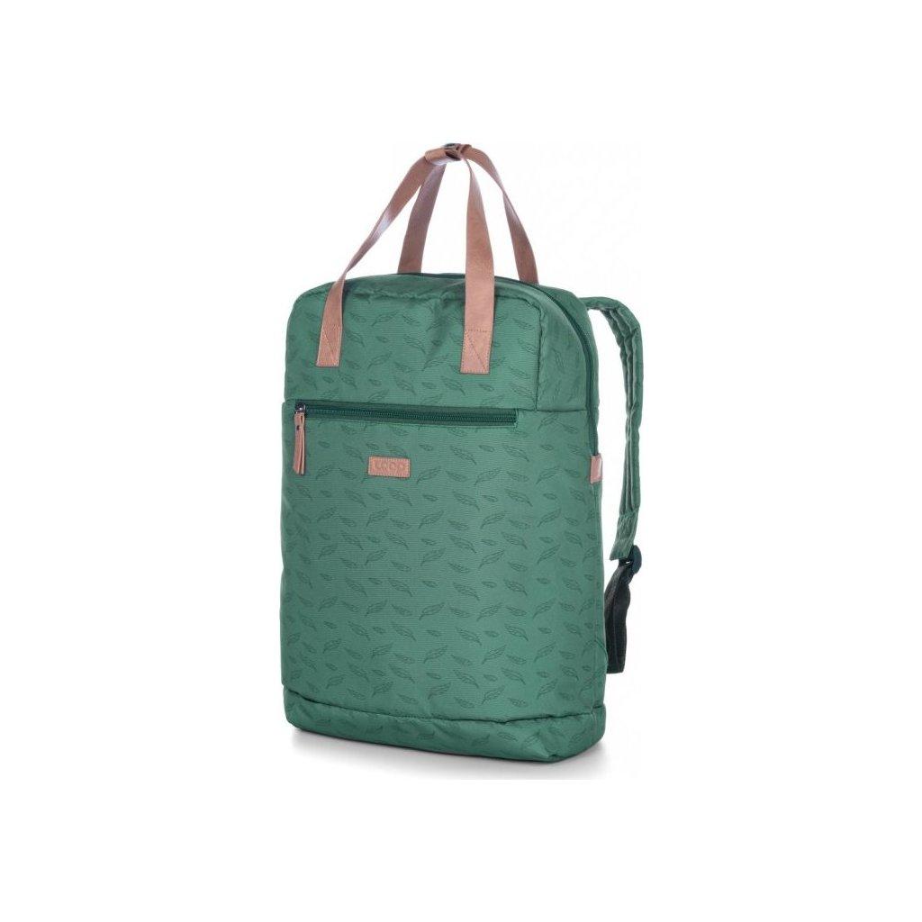 Dámský městský batoh LOAP Reina zelený