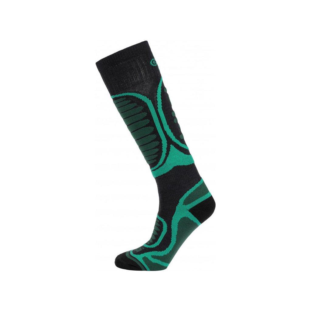 Dětské lyžařské ponožky KILPI Anxo-j tyrkysová