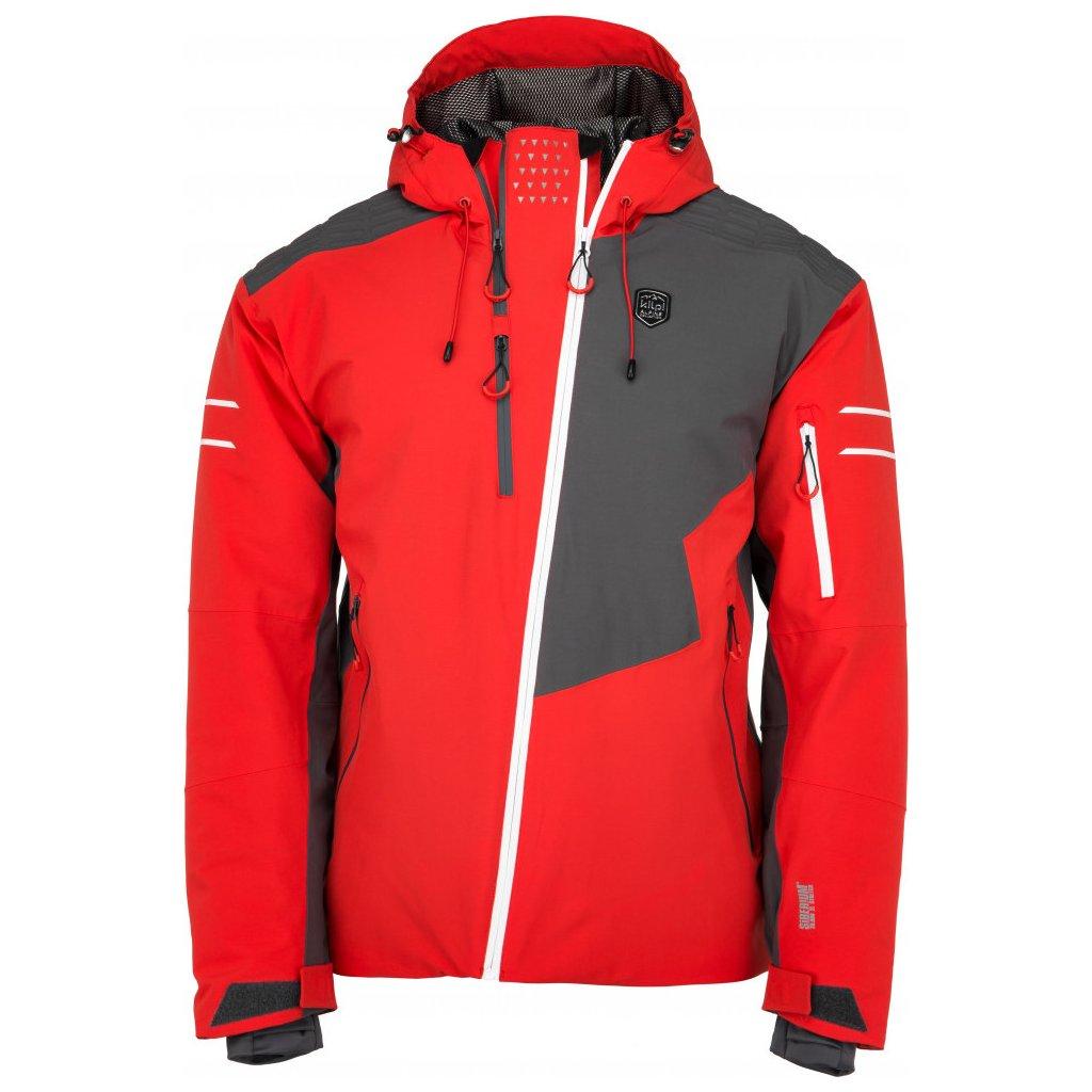 Pánská lyžařská bunda KILPI Asimetrix-m červená