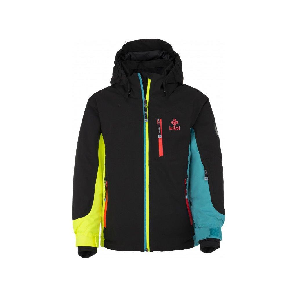 Dětská lyžařská bunda KILPI Sawa-jg černá