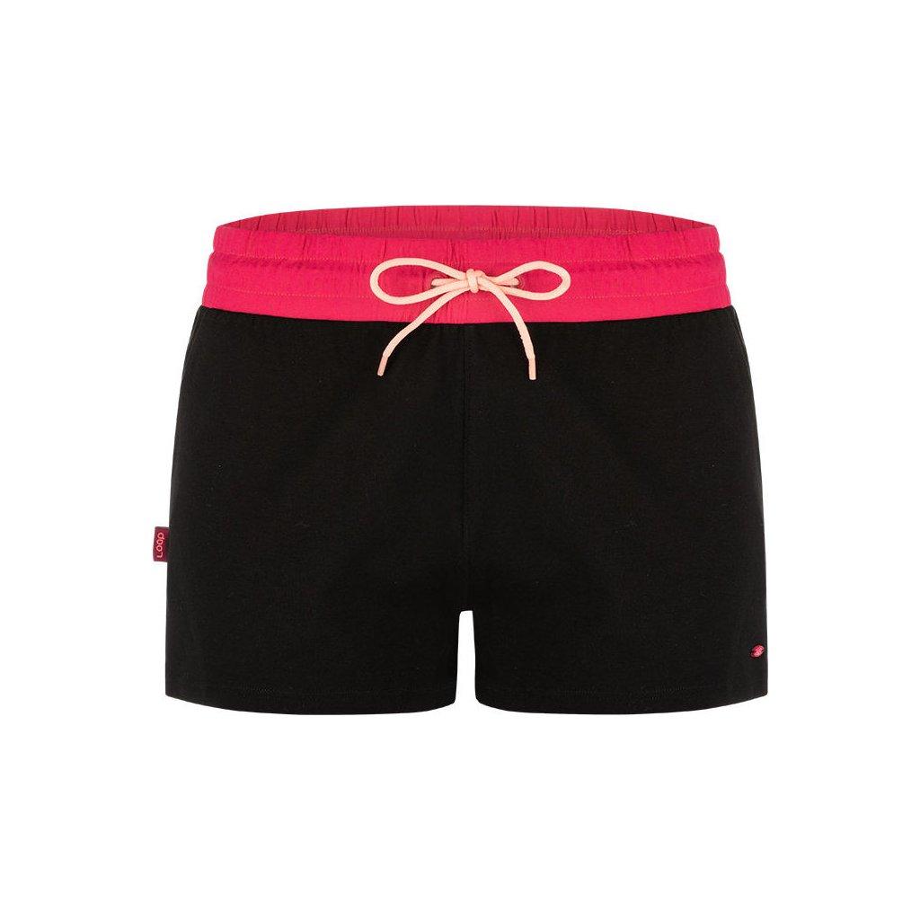 Dámské sportovní šortky LOAP Adulia černé