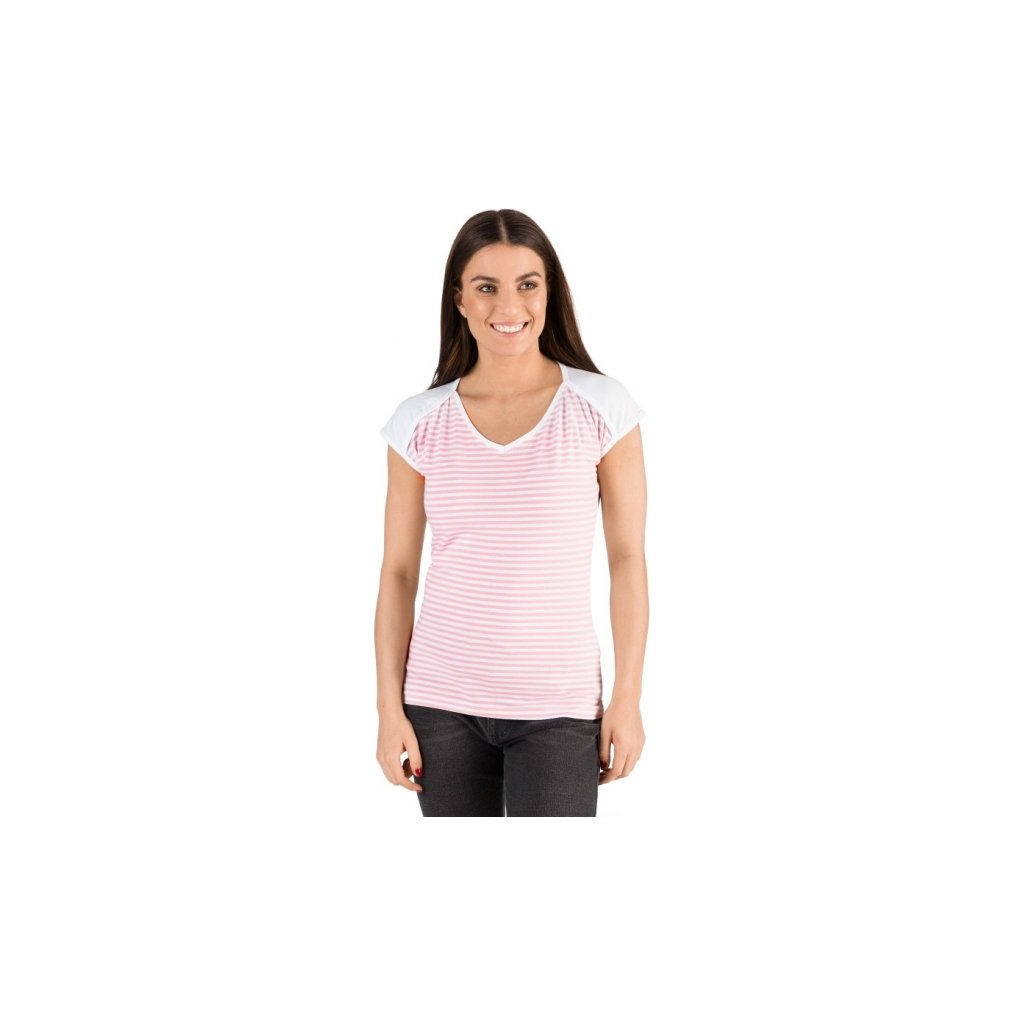 Dámské triko SAM 73 s krátkým rukávem bílé