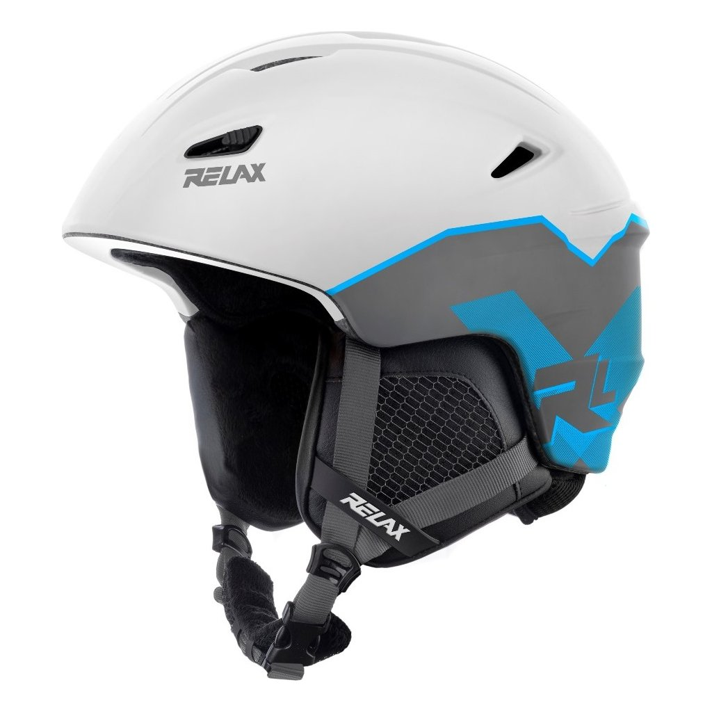 Lyžařská helma RELAX Wild bílá