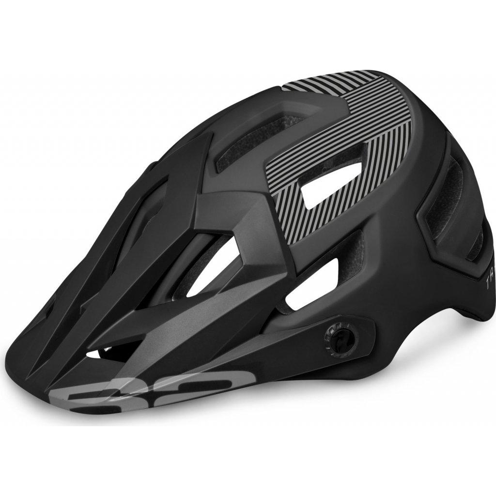 Cyklistická helma R2 Trail černá