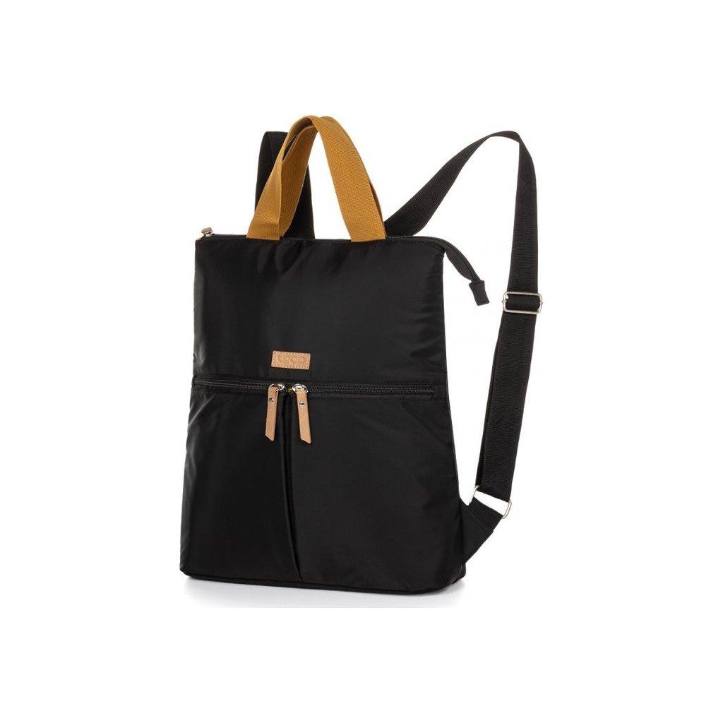 Městský batoh LOAP Saxony černý