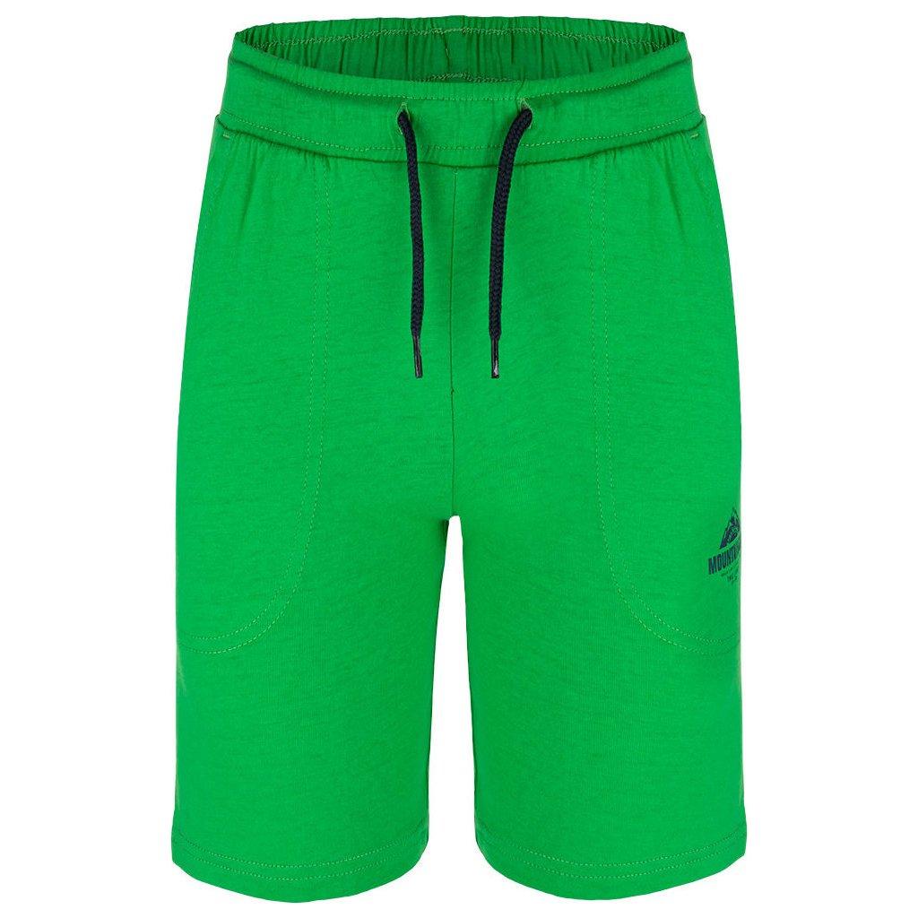 Dětské sportovní kraťasy LOAP Baidal zelené