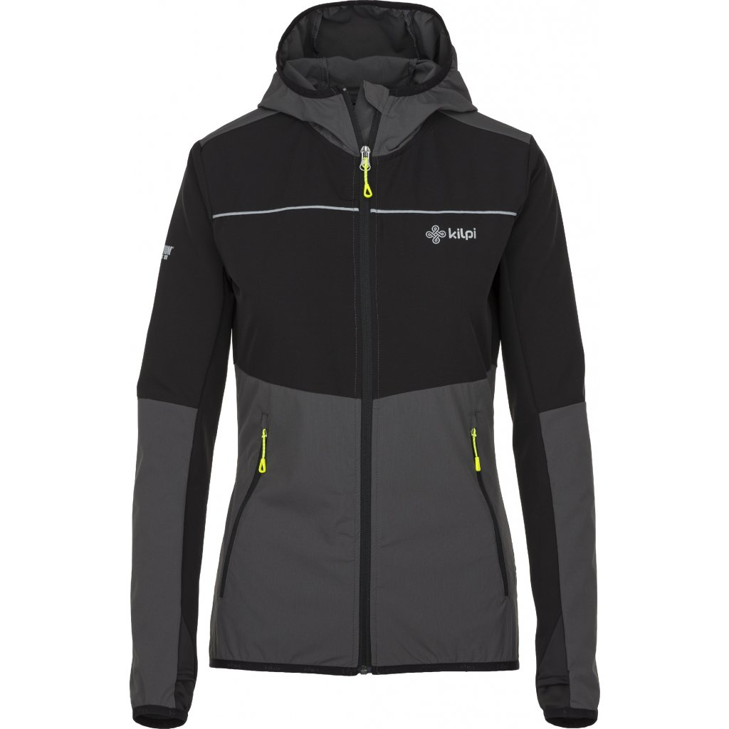 Dámská outdoorová bunda KILPI Joshua-w tmavě šedá