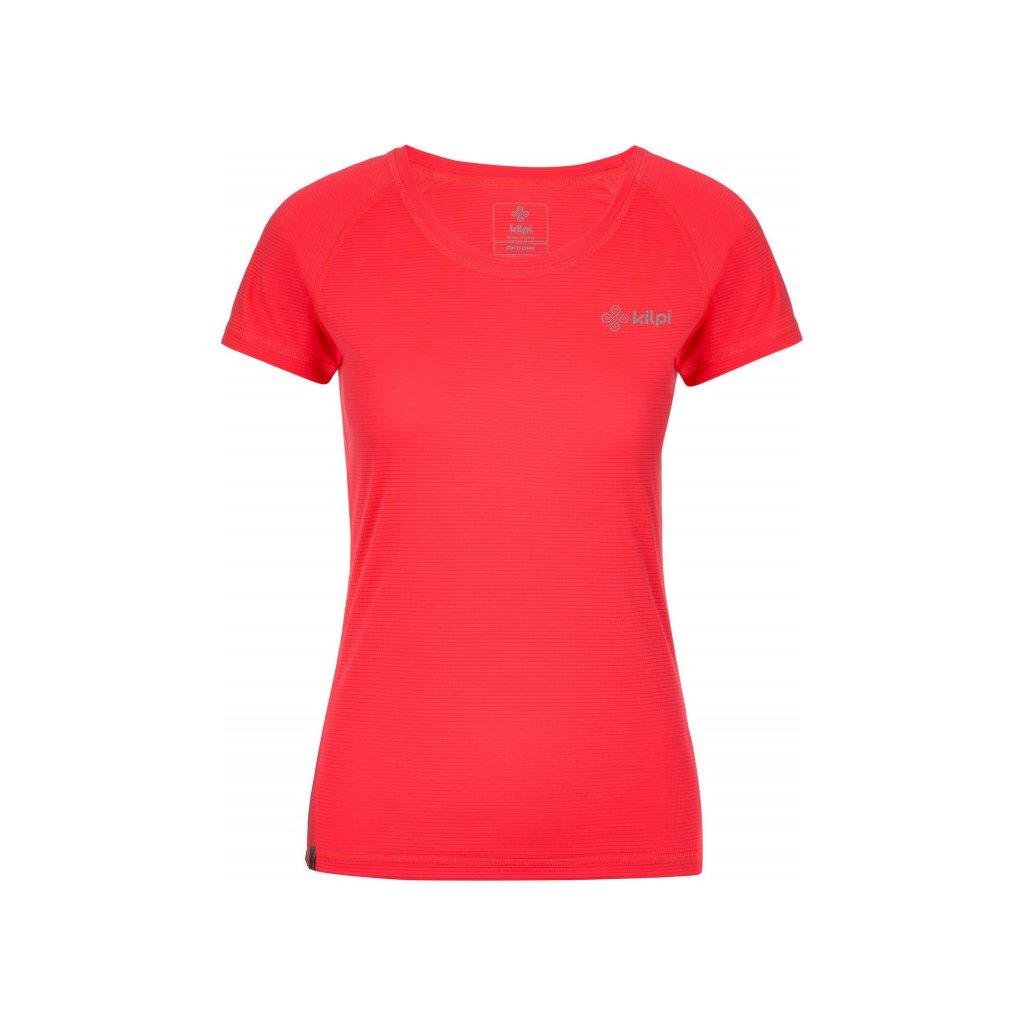 Dámské funkční tričko KILPI Border-w s krátkým rukávem růžové