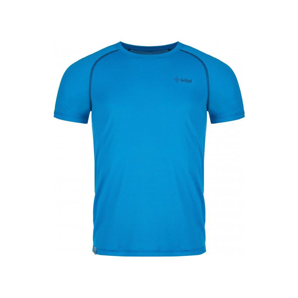 Pánské funkční tričko KILPI Border-m s krátkým rukávem modré