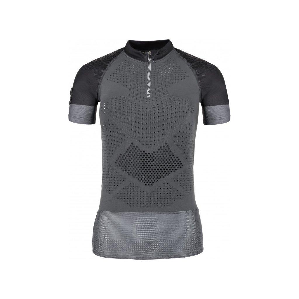 Dámské funkční tričko KILPI Combo-w s krátkým rukávem černé