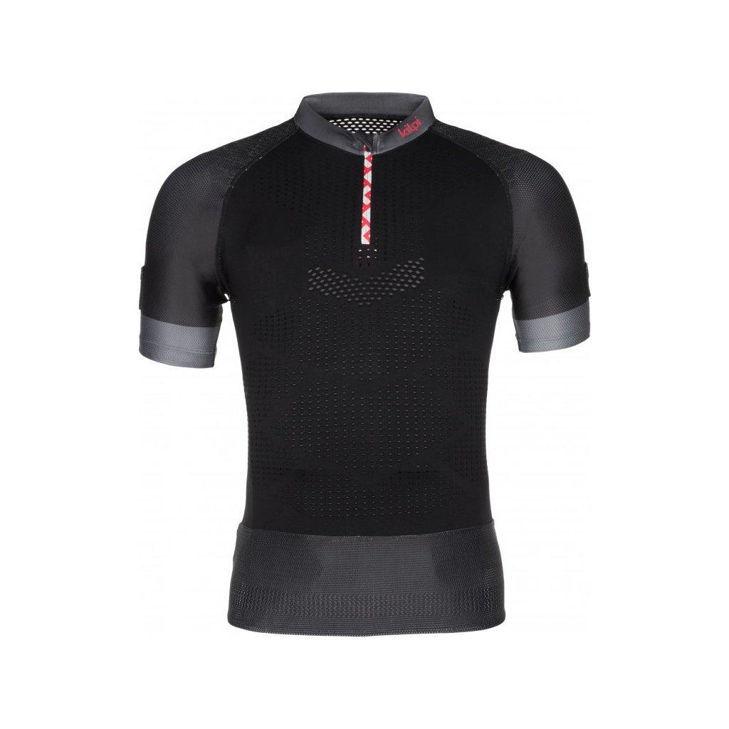 Pánské funkční tričko KILPI Combo-m s krátkým rukávem černé