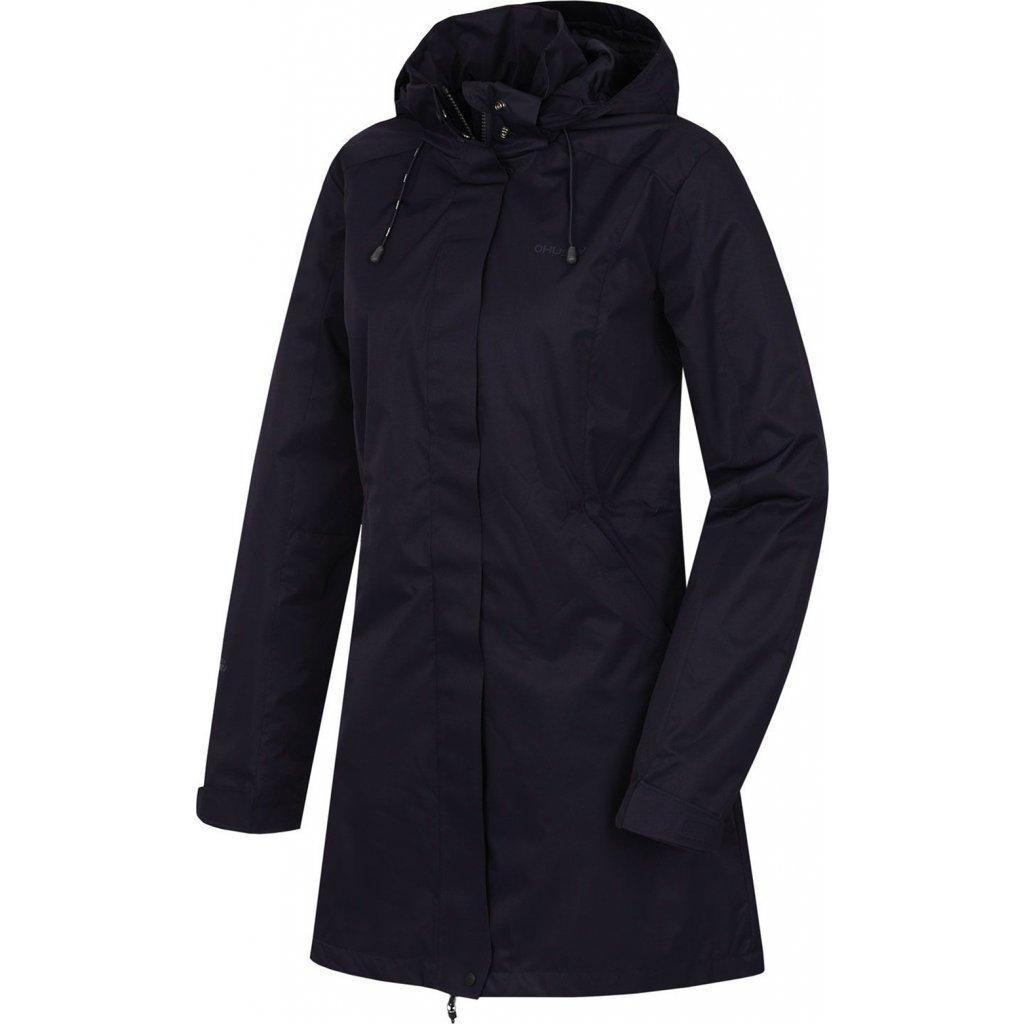 Dámský hardshellový kabát HUSKY Nut L černofialová