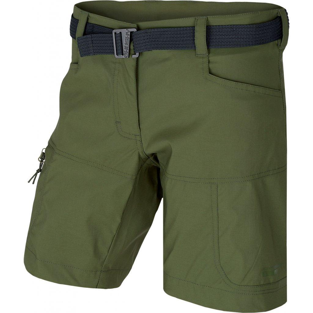 Dámské šortky HUSKY Kimbi L tm.zelená