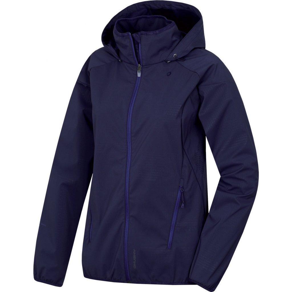 Dámská softshellová bunda HUSKY  Sally L tm. modrofialová