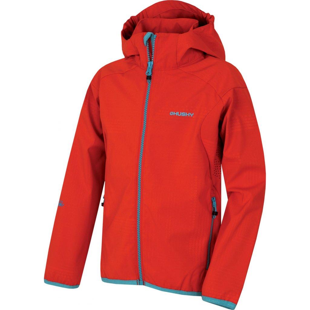 Dětská softshellová bunda HUSKY Zally Kids červená