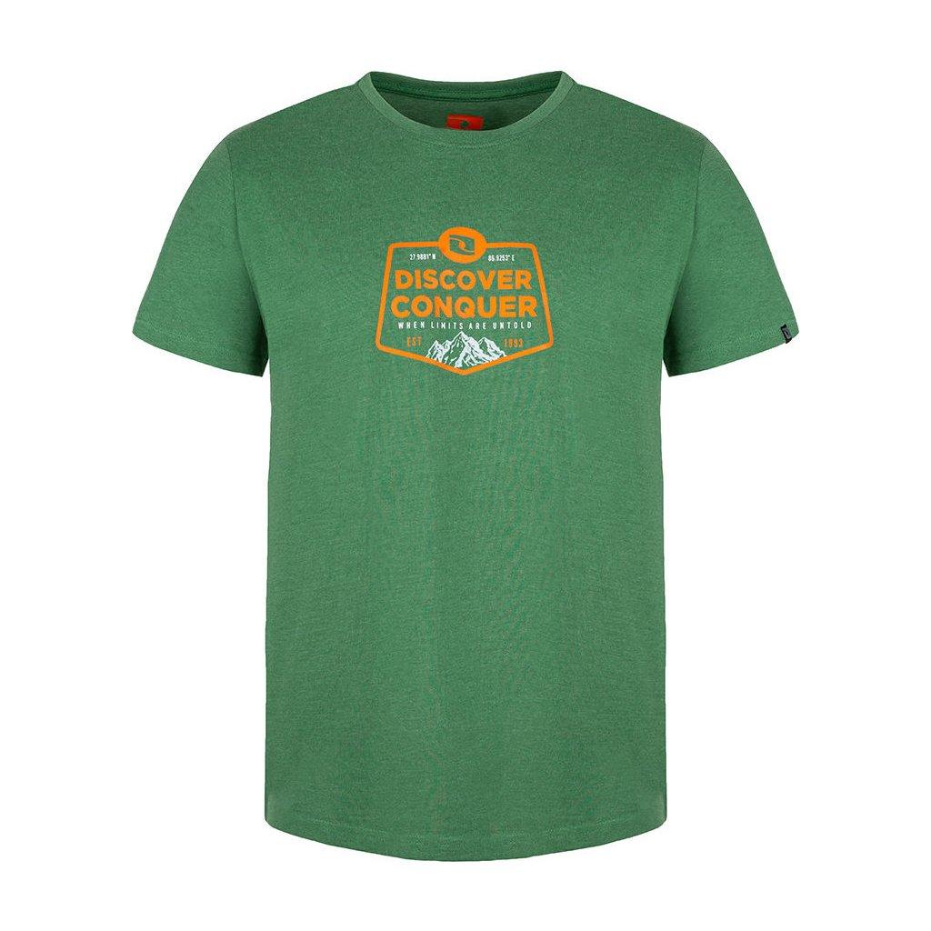 Pánské triko LOAP Bolvin s krátkým rukávem zelené