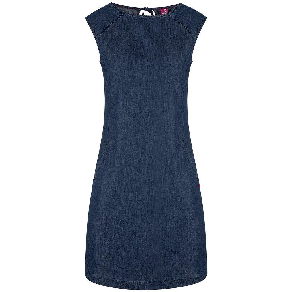 Dámské sportovní šaty LOAP Nency modré
