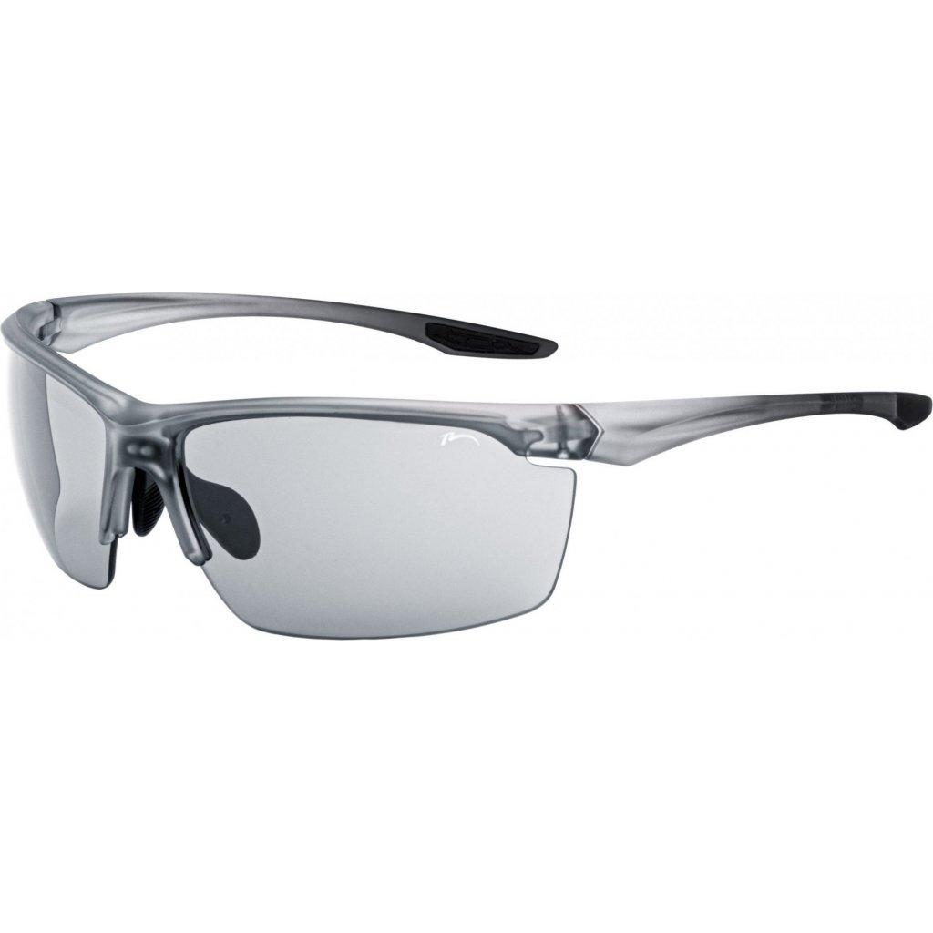 Sportovní sluneční brýle RELAX Victoria šedé