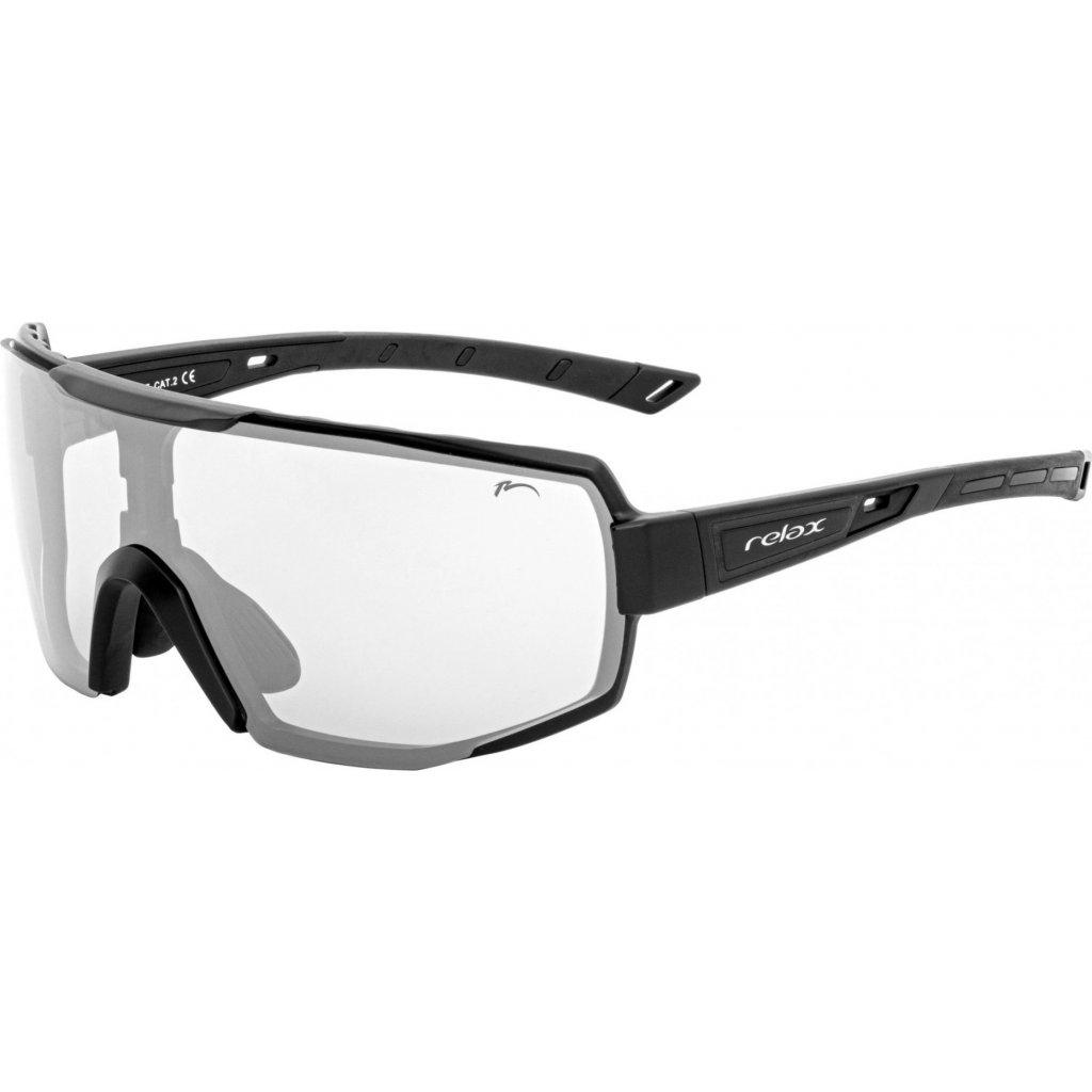 Sportovní sluneční brýle RELAX Club černé
