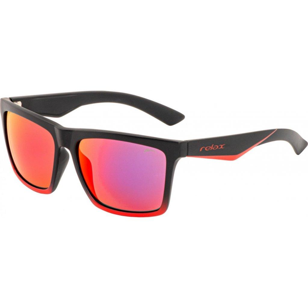 Sportovní sluneční brýle RELAX Cobi černé