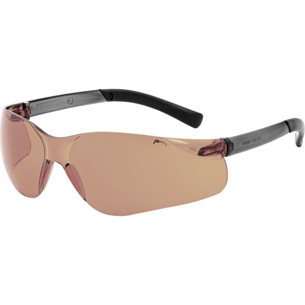 Sportovní sluneční brýle RELAX Wake hnědé
