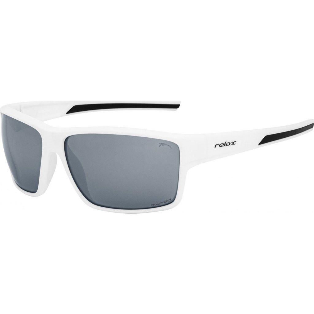 Sportovní sluneční brýle RELAX Rema bílé