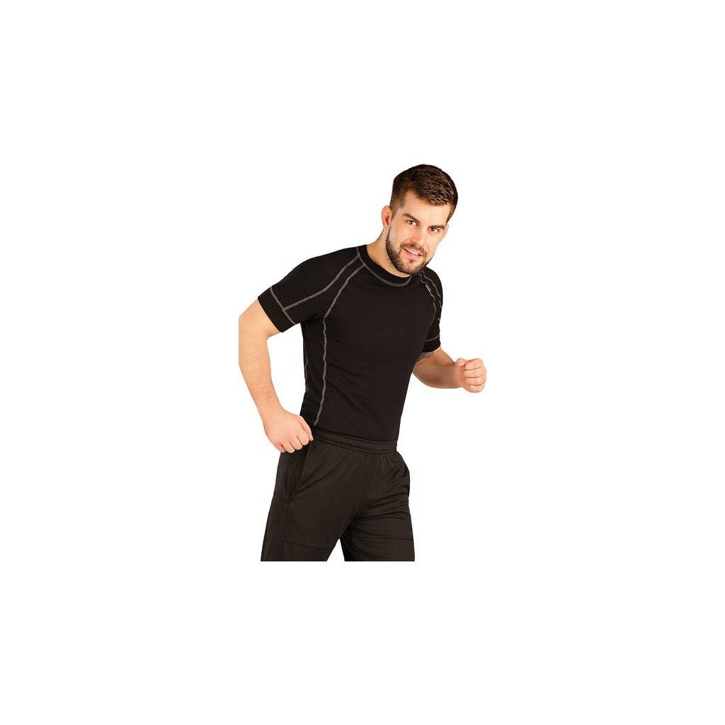 Pánské funkční triko LITEX s krátkým rukávem