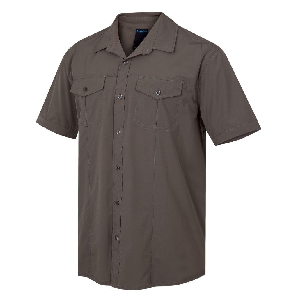 Pánská košile HUSKY  Gomy M kámen