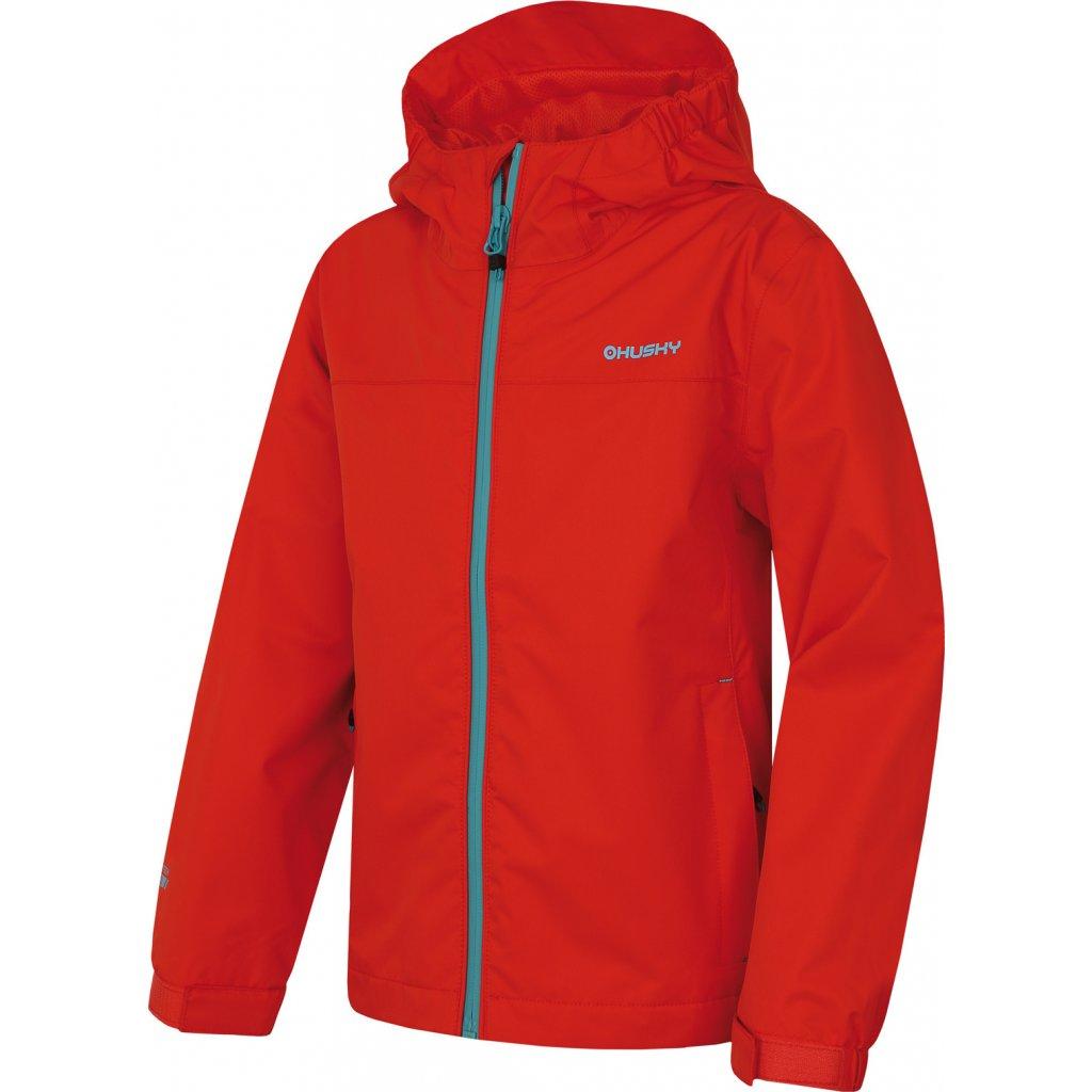 Dětská outdoorová bunda HUSKY Zunat Kids červená