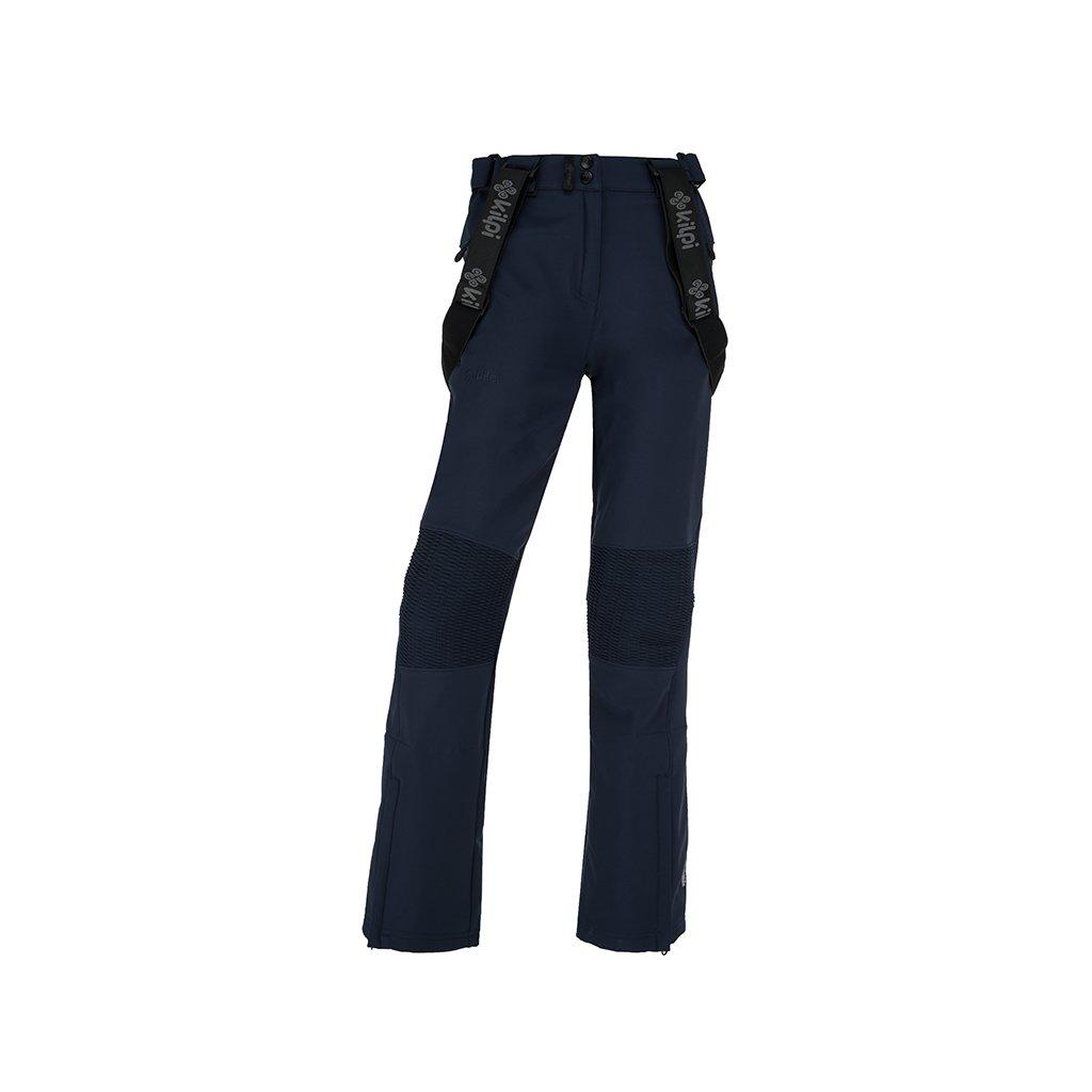 Dámské softshellové kalhoty KILPI Dione-w tmavě modrá