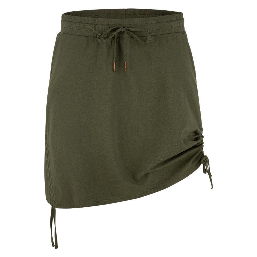 Dámská sportovní sukně LOAP Nataly zelená