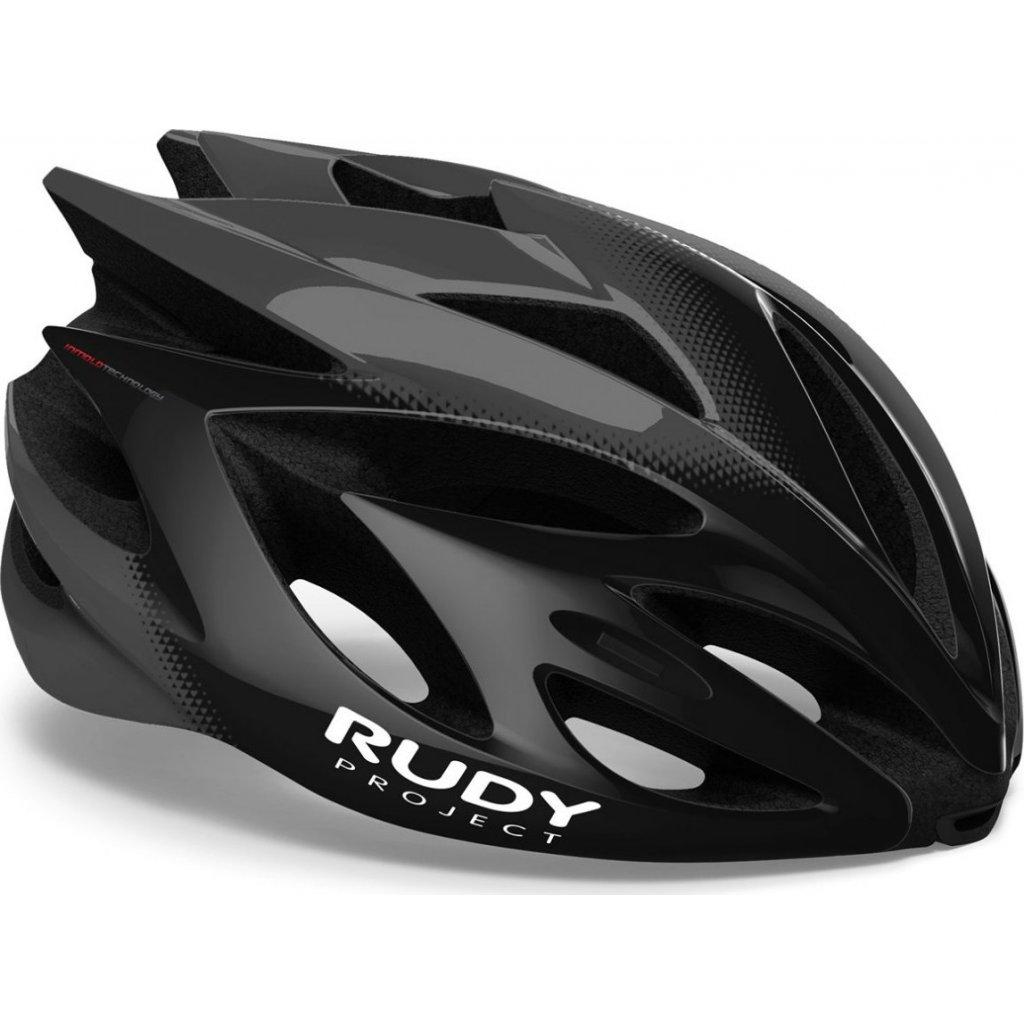Cyklistická helma RUDY Rush černá