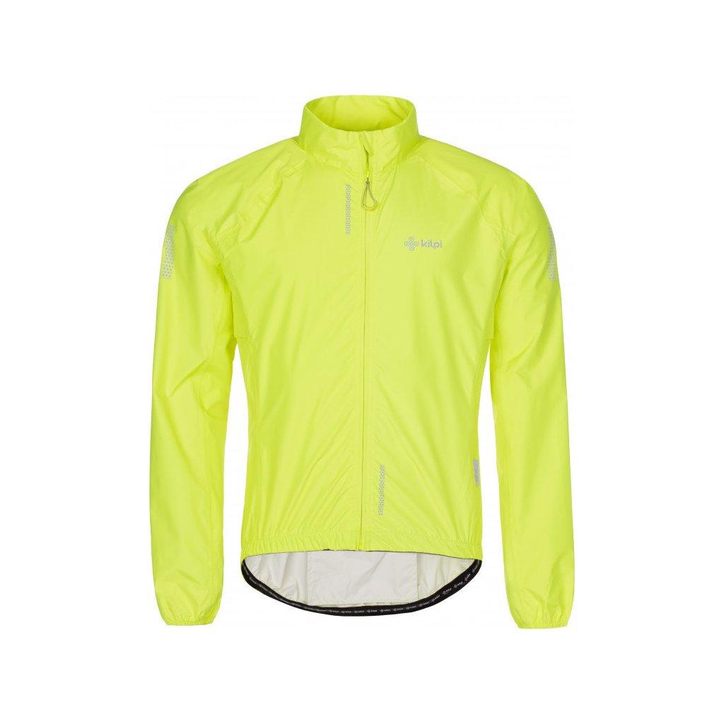 Pánská ultralehká bunda KILPI Rainar-m žlutá