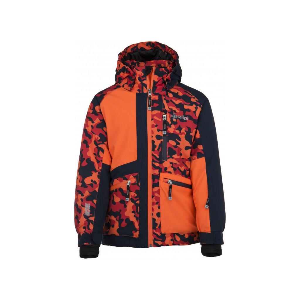 Chlapecká lyžařská bunda KILPI Jackyl-jb oranžová