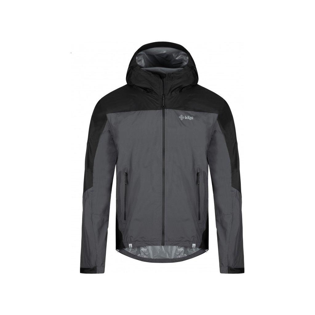 Pánská outdoorová bunda KILPI Hurricane-m tmavě šedá