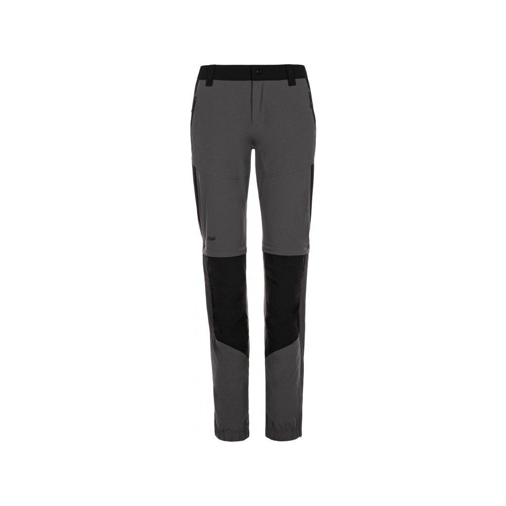 Dámské outdoorové kalhoty KILPI Hosio-w tmavě šedá