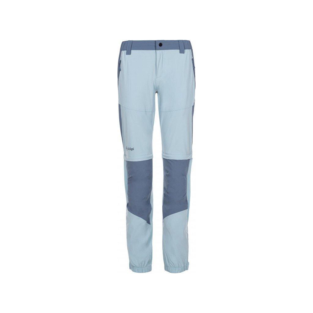 Dámské outdoorové kalhoty KILPI Hosio-w světle modrá