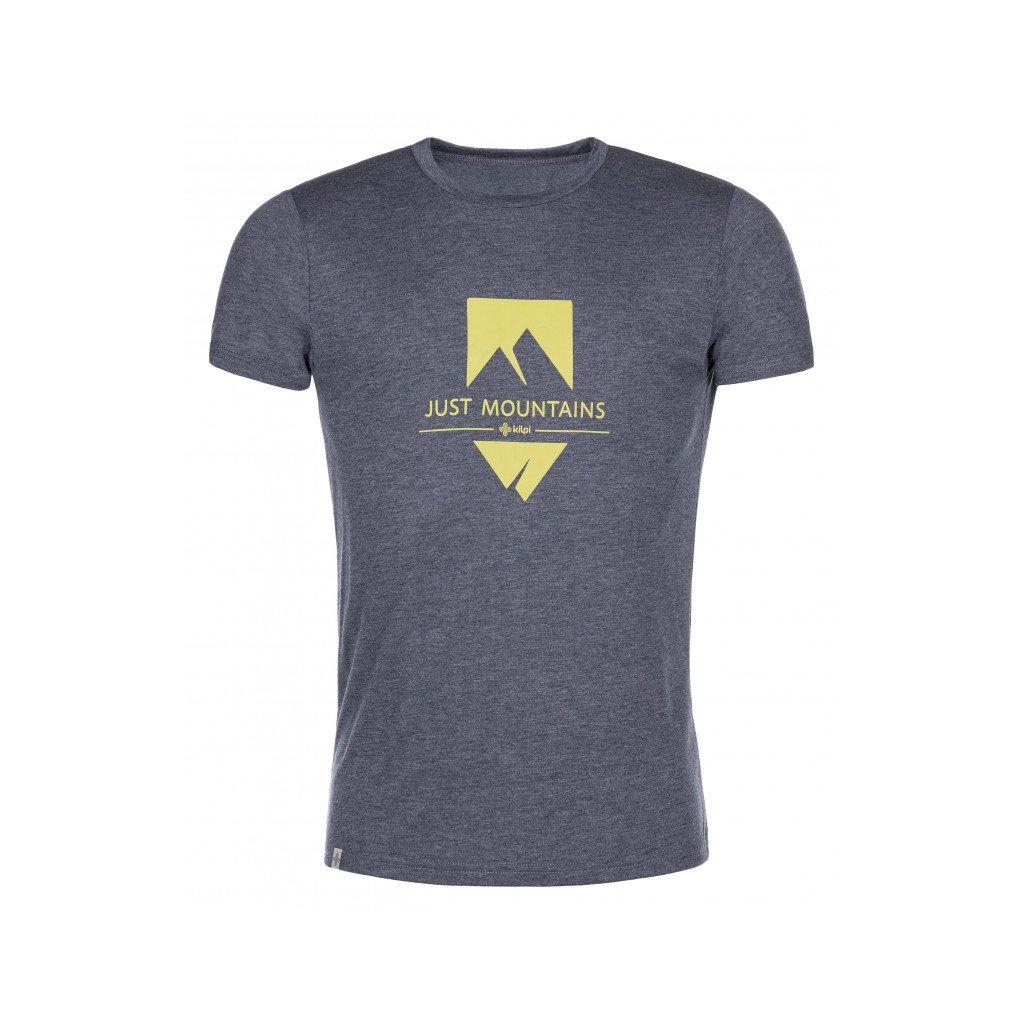 Pánské funkční tričko KILPI Garove-m tmavě modrá