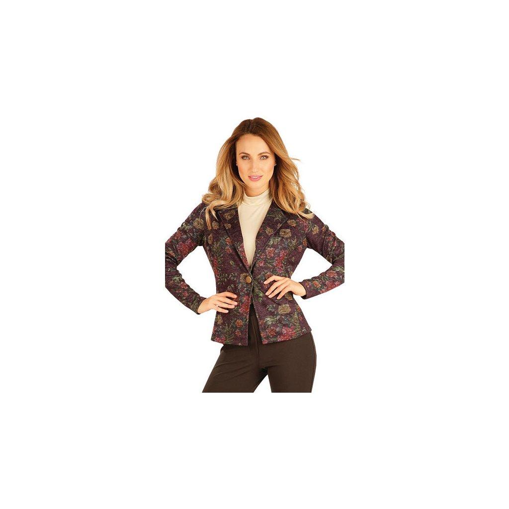 Dámské sako s dlouhým rukávem LITEX
