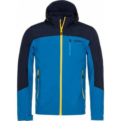 Pánská softshellová bunda KILPI Milo-m tmavě modrá