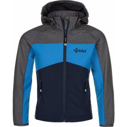 Chlapecká softshellová bunda KILPI Milo-j tmavě modrá