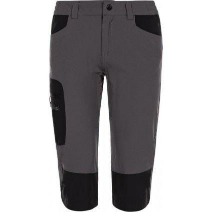 Dámské outdoorové 3/4 kalhoty KILPI Otara-w tmavě šedá