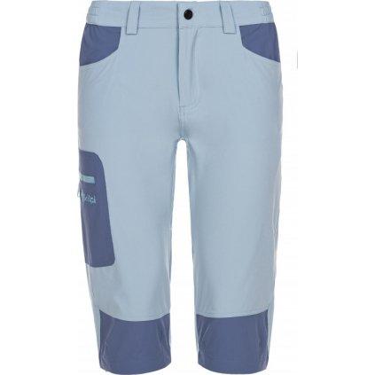Dámské outdoorové 3/4 kalhoty KILPI Otara-w světle modrá