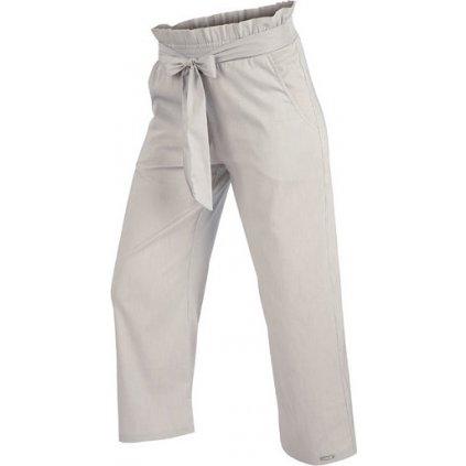 Dámské 7/8 kalhoty LITEX do pasu šedá