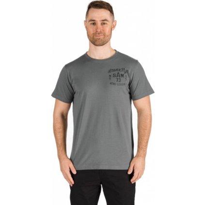 Pánské triko SAM 73 s krátkým rukávem šedá